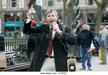pastor street preaching