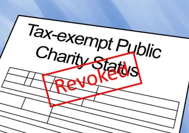 tax exempt revoked